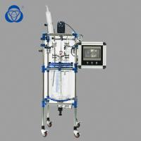 Buy cheap Gg17 Agitating Lab Glass Reactor CE Approved Large Condenser Cooling Surface from wholesalers