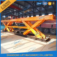 Buy cheap 8T Heavy Duty Electrical Hydraulic Scissor Table Elevating Platform With Jack Lift from wholesalers