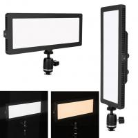Buy cheap Bicolor Edge Soft LED Video Lights Aluminum Solid Stable LED Video Lighting Kits from wholesalers
