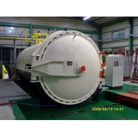 Buy cheap Glass laminating autoclave with automatic CPC control programmer product
