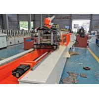 Buy cheap Hydralic Cutting Door Frame Roll Forming Machine 380V / 50HZ / 3PH With PLC Control product