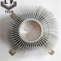 Buy cheap Round Fin Aluminum Extrusion Heat Sinks For CPU Cooler For Large Equipment Heat Dissipation from wholesalers