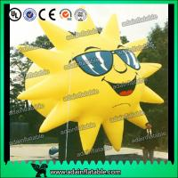 Buy cheap Customized Inflatable Sun Replica Cartoon For Sunglasses Advertising from wholesalers