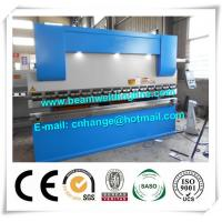 Buy cheap NC Hydraulic Press Brake And Bending Machine 80T , Metal Sheet Brake Press Machine from wholesalers