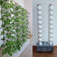 Buy cheap Aeroponics tower vertical aeroponic garden hydroponic grow system from wholesalers