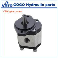 Buy cheap Rotary CE CBK hydraulic gear pump , jcb tractor hydraulic fuel pump from wholesalers