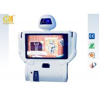 Buy cheap White Kunfu Robot Arcade Game Machines, Motion Games For Kids product
