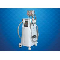 Buy cheap Vacuum Cryo Fat Freezing Machine , Body Shaping Cryolipolysis Fat Freezing Machine from wholesalers