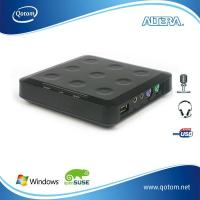Buy cheap QOTOM-N23 thin client,  mini station with,  NCoumputing L230,  with one USB port from wholesalers