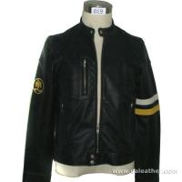Buy cheap Men's Leather Style Garment leather Jacket, Washable Leather Jacket (019) from wholesalers