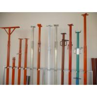 Buy cheap Hot Dip Q235 Galvanized Adjustable Steel Props with Simple Structures from wholesalers