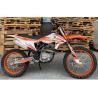 Buy cheap Orange 250cc Dirt Bike Hydraulic Disc Brake Steel Forging Material from wholesalers