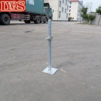 Buy cheap Galvanized Frame Scaffold Steel Leveler Hollow Type product