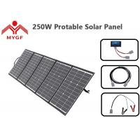 Buy cheap Portable Solar Power Panels , Solar Panel Camping Kit Customized Dimension from wholesalers