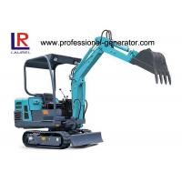 Buy cheap Compact Heavy Construction Machinery , Rubber Small Crawler Excavator from wholesalers