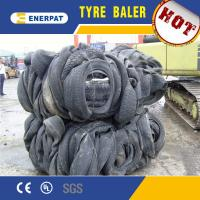 Buy cheap CE Certificate Truck Tire Baler/Truck Tyre Baling Press Machine/Tire Debeader from wholesalers