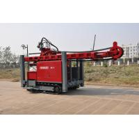 Buy cheap Self propelled on track water Well Drilling Rig 97KW / 420 mm Drilling Hole with hydraulic system from wholesalers