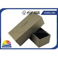 Buy cheap Sunglasses Embossing Hard Cardboard Paper Boxes With Pantone Color Printing from wholesalers