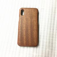 Buy cheap Cherry / Sapele Wood iPhone X Case Separating Type Round Edge Model product