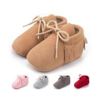 Buy cheap Wholesale Faux suede tassel Anti-slip slip on moccasin infant Walking shoes Baby shoes from wholesalers