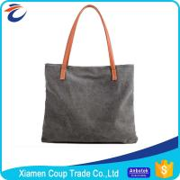 Buy cheap Personalised Design Fabric Shopping Bags / Big Shopper Bag Canvas Material from wholesalers