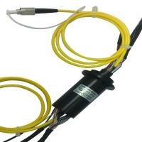 Buy cheap Compact Size Underwater Robot Slip Ring With IP68 Hybrid Fiber Optic Rotary Joint from wholesalers