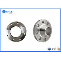 Buy cheap Forged F44 Duplex Stainless Steel Flanges / Weld Neck Flange For Construction Size 2'-24' from wholesalers