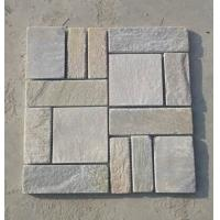 Buy cheap Oyster Slate Flagstone Mosaic Natural Quartzite Patio Pavers Oyster Flagstone Walkway Pavement from wholesalers