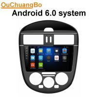 Buy cheap Ouchuangbo car multimedia androi 6.0 system for Nissan Tiida with radio stereo sat navi bluetooth SWC from wholesalers