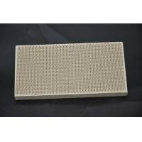 Buy cheap Infrared Honeycomb Ceramic Burner Plate Thermal Shock Resistance For Pizza Ovens from wholesalers