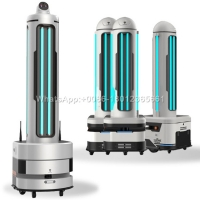 Buy cheap Contactless Sanitizing Hospitals UV Light Robot from wholesalers