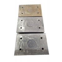 Buy cheap long wear life costomized 63HRC Wear Plates for cement mill from wholesalers