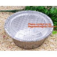 Buy cheap disposable food packaging aluminum foil container, tray, box Customised food Aluminum Foil, bakery box, bakery container from wholesalers