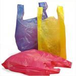 Buy cheap Biodegradable PLA PBAT 25 Micron Compostable T Shirt Bag from wholesalers