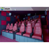 Buy cheap Hydraulic 5D HD Movie Theater With 55 inch displayer / 6 seats product
