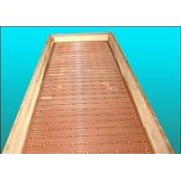 Buy cheap Narrow Wider Sides Copper Mould Plate Square Structural With Long Or Short Funel from wholesalers
