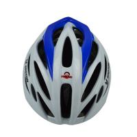 Buy cheap EPS Mens Mountain Bike Helmets , White Bicycle Helmet With Visor from wholesalers