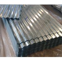 Buy cheap Galvanized Building Roof Tiles Thin Corrugated Steel Tile 762 - 780 Pcs Per Ton from wholesalers