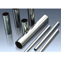 Buy cheap 304 / 316L / 430 Polished Stainless Steel Tubing With Outer Diameter Tolerance from wholesalers