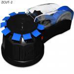 Buy cheap Black ZCUT-2 3m carousel tape dispenser bopp soft tape cutting dispenser from wholesalers
