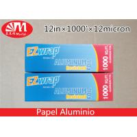 Buy cheap Premium Catering Aluminium Foil Roll 12In X 12 Micron X 1000Ft With Cutting Edge from wholesalers