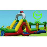 Buy cheap Hot selling  inflatable obstacle course  with 24months warranty GT-OBS-0501 from wholesalers