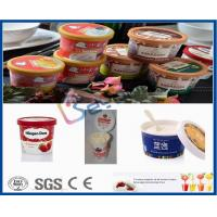 Buy cheap 500L Plastic Cup Dairy Processing Plant , Professional Ice Cream Making Machine from wholesalers