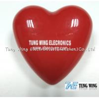 Buy cheap Heart Shaped Flashing LED Badges For Festival Items , Party Flashing Items from wholesalers