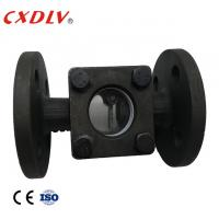 Buy cheap 1/2Sight Glass Flange Ends WCB Swing Type PN16 Water Glass Casting/Pyrex Glass, with flapper from wholesalers
