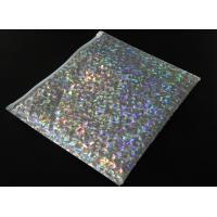 Buy cheap 220x160mm Shiny Holographic Bubble Envelope Mailers with Zipper Cosmetic Bubble Jiffy Bag from wholesalers
