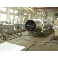 Buy cheap Rotary Barrel Vacuum Drying Machine Natural Gas Heating High Efficiency from wholesalers