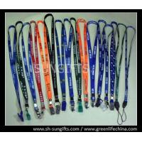 Buy cheap Economical neck lanyards with custom logo printing different metal/plastic accessories from wholesalers
