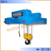 Industrial 40 Ton / 80 Ton Heavy Duty Rope Hoist Double Girder Winch Trolley