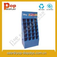 Buy cheap Promotional Blue Cardboard Floor Display Stands With Pallet from wholesalers